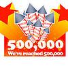 cross.tv ylittää puolen miljoonan jäsenen rajan!