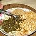 Gerösteter Sesam und Erdnüsse