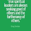 Greg Gordon Christian Quotes