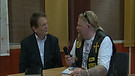 Pontus speaking with Reinhard Bonnke