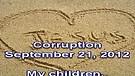 Corruption – September 21, 2012