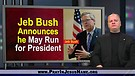 Presidential Politics:  Jeb Bush announces he may run - 1/16/15