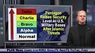 Pentagon Raises Security Level At U.S. Military ...