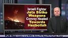 Israeli Fighter Jets Strike Hezbollah Weapons Co...