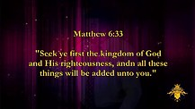 Luke 9 & 10 - Kingdom Manifesations - Kingdom Keys