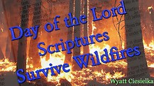 Day of the Lord Scriptures Survive Wildfires