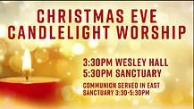 Wesley Hall Worship 12/11/16