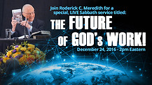 The Future of God's Work!