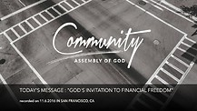 Pastor Walter: God's Invitation to Financial Freedom