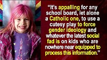 Catholic School Under Fire For Refusing Transgender Play