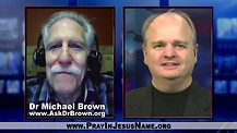 Christian Leader threatened by College Protestors:  Dr. Michael Brown