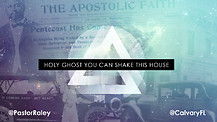 Holy Ghost, You Can Shake This House | Pastor Jim Raley